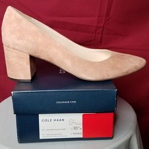Cole Haan mocha 55MM pump size 10.5 medium NWT